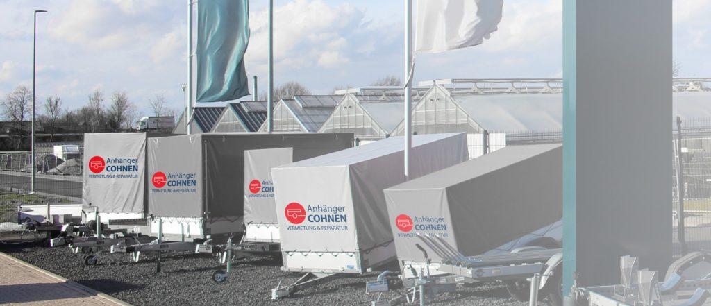 Anhänger Cohnen - Verleihung und Reparatur - Anhängerverleih in Geilenkirchen